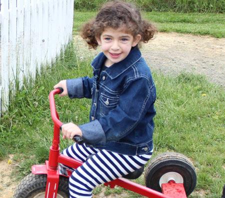 Title Ginny-bike